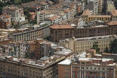 Rooftob view of in Rome, Italy. Stock Photography