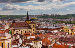 Rooftoops of old Prague. Stock Images
