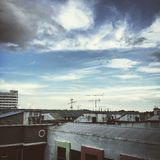 rooftop Arkivbild