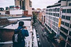 rooftop Arkivfoton
