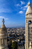 Rooftop and aerial view from Basilica Sacre Coeur 1 Stock Photo