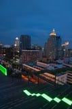 Rooftop bars in Bangkok, Thailand Royalty Free Stock Images