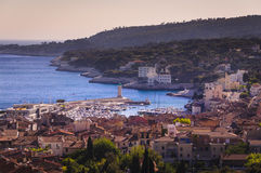 Rooftop of Cassis city, France. Rooftop of Cassis city in France Stock Images