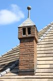 Rooftop chimney Stock Images