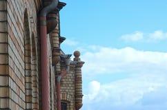 Rooftop closeup and sky Stock Photos