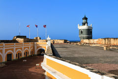 Rooftop Del Morro Stock Photography