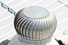 Rooftop exhaust fan Stock Photos