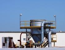 rooftop för luftblåsare Arkivfoton