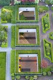 Rooftop Garden 1 Royalty Free Stock Photos