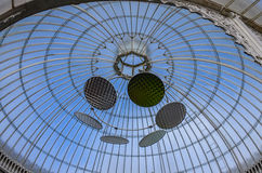 Rooftop of Glasgow Botanic Garden, Scotland Stock Photo