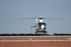 Rooftop Heliport Stock Photography