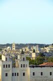 Rooftop Jerusalem Palestine Israel Stock Photo