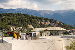 Rooftop on Mallorca Royalty Free Stock Images