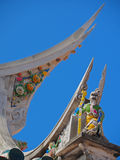 Rooftop of Mazu Temple in Penghu Royalty Free Stock Photography