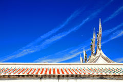 Rooftop of Mazu Temple in Penghu Stock Images