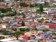 Rooftop of Mexico city Stock Photos