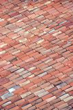 Rooftop in Nice, France. Red tile rooftop in Nice, France Stock Photography