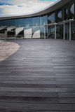Rooftop open space portrait Royalty Free Stock Photography