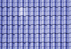 Rooftop Patterns Royalty Free Stock Photography