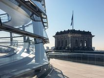 Rooftop of Reichstag Building, Berlin, Germany Stock Photography