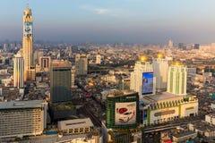 Rooftop restaurant in Bangkok Stock Image