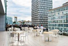 Rooftop restaurant Stock Photography