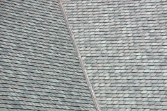 Rooftop shingles Stock Photo