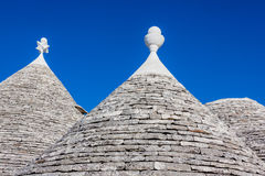 Rooftop of trulli Stock Image