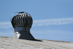 Rooftop Turbine Stock Image