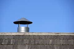Rooftop vent Royalty Free Stock Photos