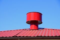 Rooftop vent Stock Photos