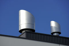 Rooftop vents Royalty Free Stock Photo