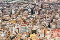 Rooftop view of the architecture in Alicante Stock Photography