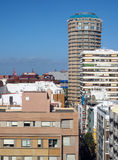 Rooftop view condos hotels Las Palmas capital Grand Canary Islan Royalty Free Stock Image