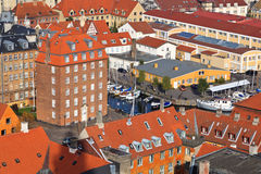 Rooftop view of Copenhagen Royalty Free Stock Photography