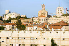 Rooftop view Jerusalem Israel Stock Photos