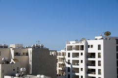 Rooftop view of Larnaca Cyprus Royalty Free Stock Images