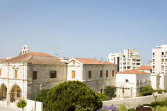 Rooftop view larnaca cyprus Stock Images