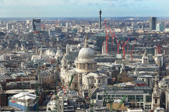 Rooftop view of London City Royalty Free Stock Image