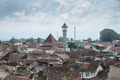 Rooftop view of Malang Stock Photography