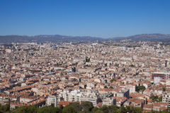 Rooftop view of Marseille Stock Photography