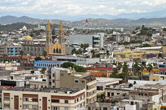 Rooftop view of Mazatlan Royalty Free Stock Photos