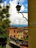Rooftop view in Montepulciano, Tuscany, Italy Royalty Free Stock Image