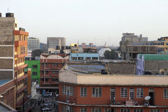 Rooftop view of Nairobi Royalty Free Stock Image