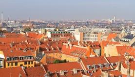Free Rooftop View Of Copenhagen Stock Image - 27296131