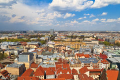 Rooftop view of Riga Royalty Free Stock Photos
