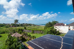 Rooftop view villa and hotel Royalty Free Stock Photo