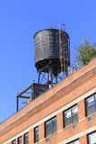 Rooftop water tank Stock Image
