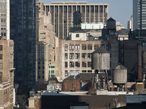 Rooftop Water Tanks Stock Photos