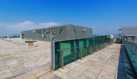 Rooftop wide view under sky Royalty Free Stock Photo
